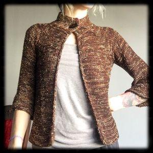 BCBGMaxAzria button down sweater top